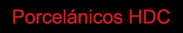 Logotipo - Porcelánicos HDC