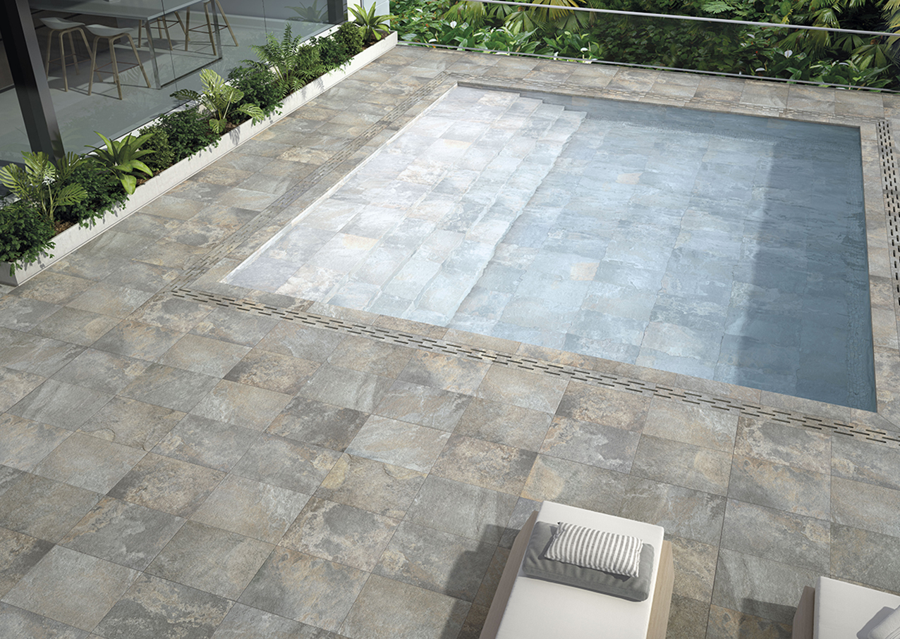 Porcelain tiles for the pool? Yes, 10 reasons for you to choose now